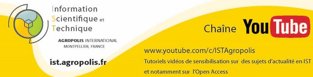 Marque page promotionnel chaine You Tube IST Agropolis
